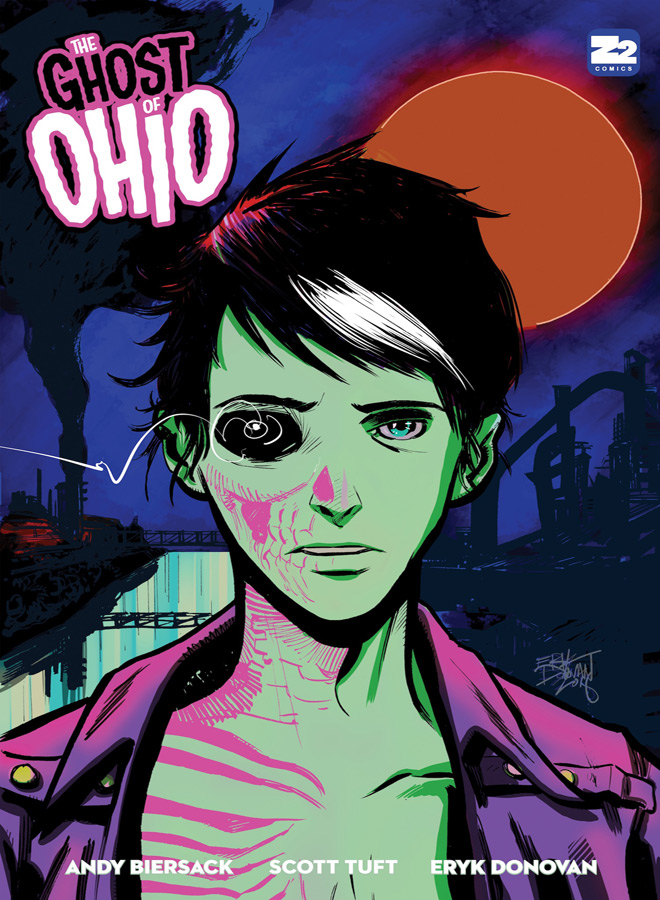 ghost of ohio cover - Andy Biersack - The Ghost of Ohio (Graphic Novel Review)