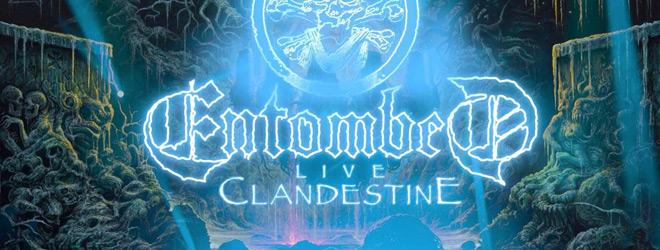 entombed slide - Entombed - Clandestine Live (Album Review)