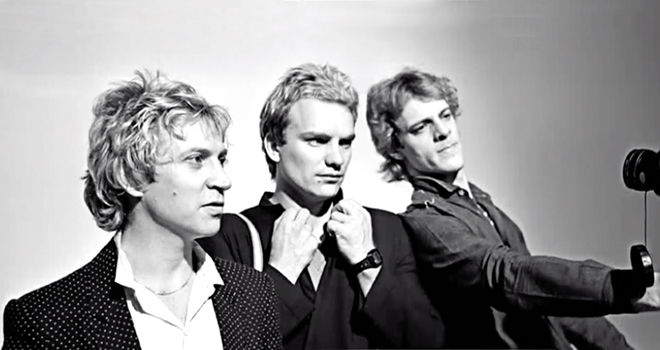 the police promo - Interview - Stewart Copeland of The Police