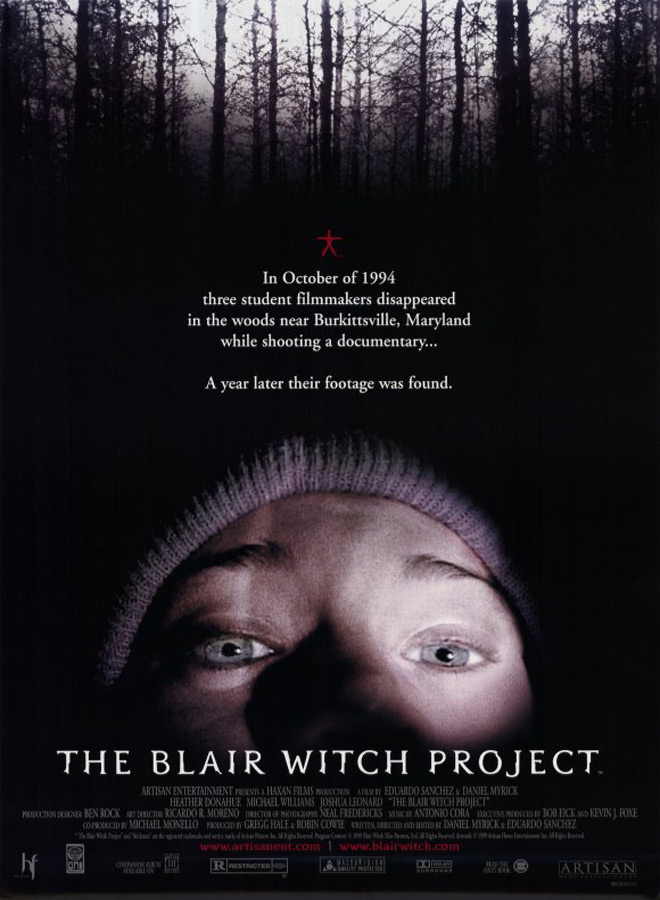 blair witch poster - The Blair Witch Project - 20 Years Later In The Woods