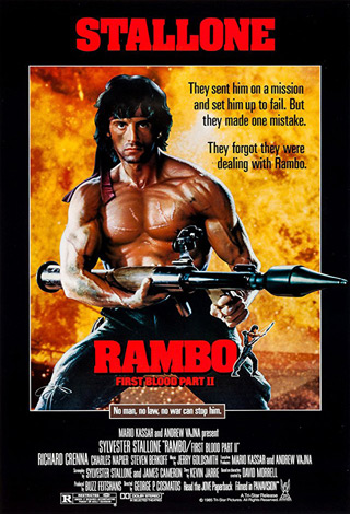 rambo first blood poster - Interview - Martin Kove