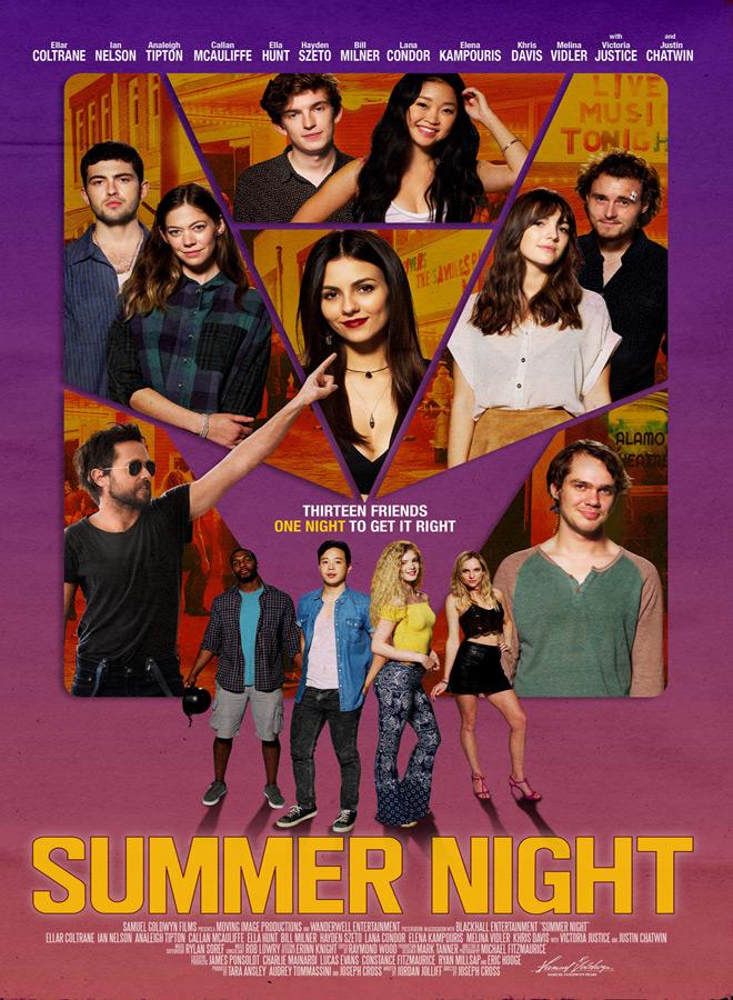 summer night poster - Summer Night (Movie Review)