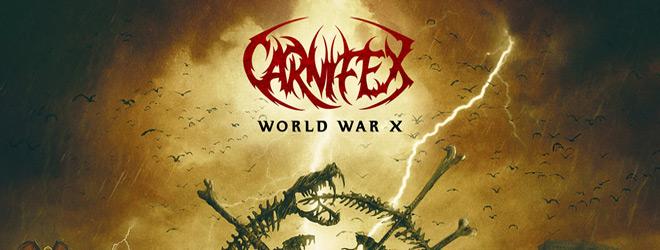 world war x slide - Carinfex - World War X (Album Review)