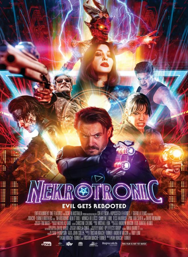 nekrotronic poster - Nekrotronic (Movie Review)
