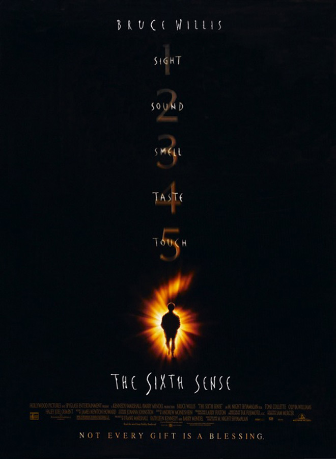 sixth sense poster - The Sixth Sense - 20 Years of Surprises