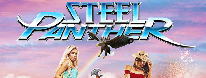 steel panther slide - Steel Panther - Heavy Metal Rules (Album Review)