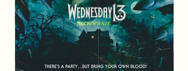 wednesday 13 slide - Wednesday 13 - Necrophaze (Album Review)