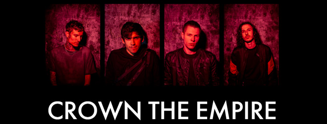 crown the empire slide - Interview - Andy Leo of Crown The Empire