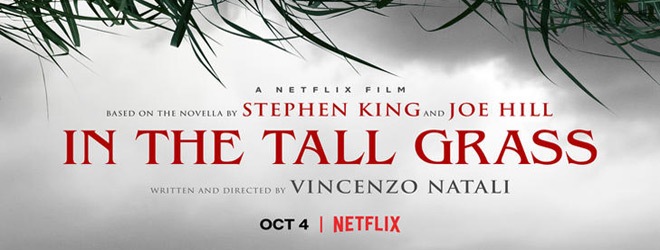 in the tall grass poster slide - In the Tall Grass (Movie Review)