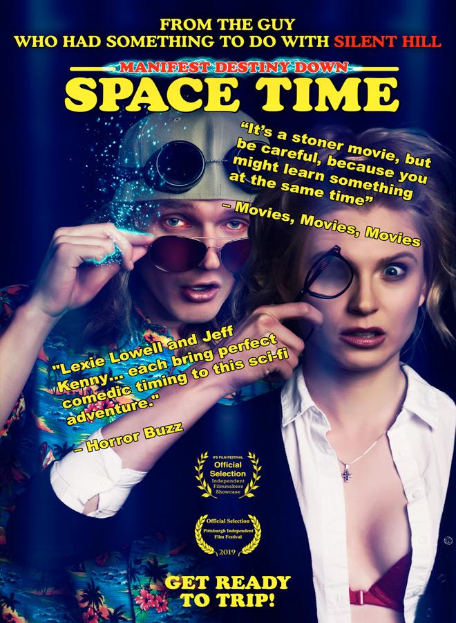manifest poster - Manifest Destiny Down: Spacetime (Movie Review)