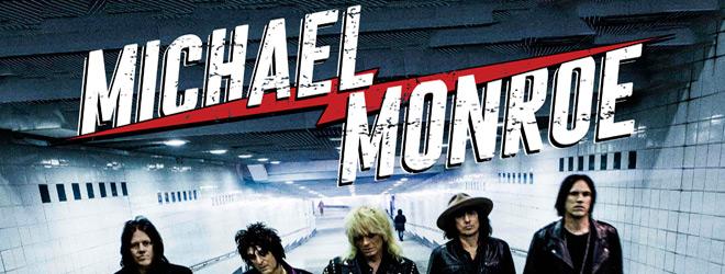michael monroe slide - Michael Monroe - One Man Gang (Album Review)