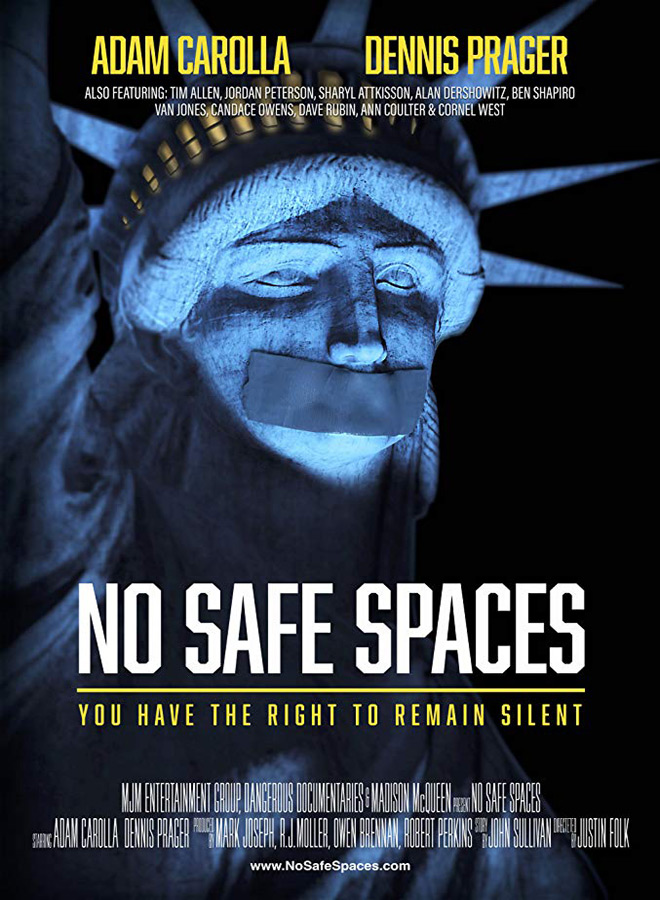 no safe spaces - Interview - Adam Carolla