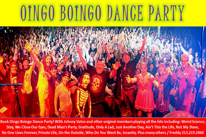 "oingo boingo dance - Interview - Oingo Boingo's Johnny ""Vatos"" Hernandez"