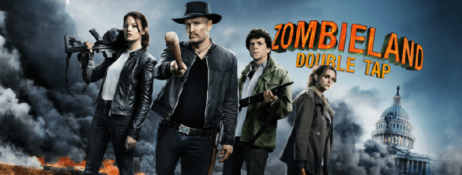 zombieland banner - Zombieland: Double Tap (Movie Review)