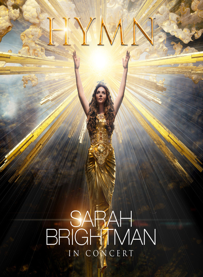 hymn poster - HYMN: Sarah Brightman In Concert (DVD/CD Review)