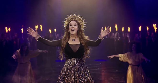 sarah hymn still - HYMN: Sarah Brightman In Concert (DVD/CD Review)