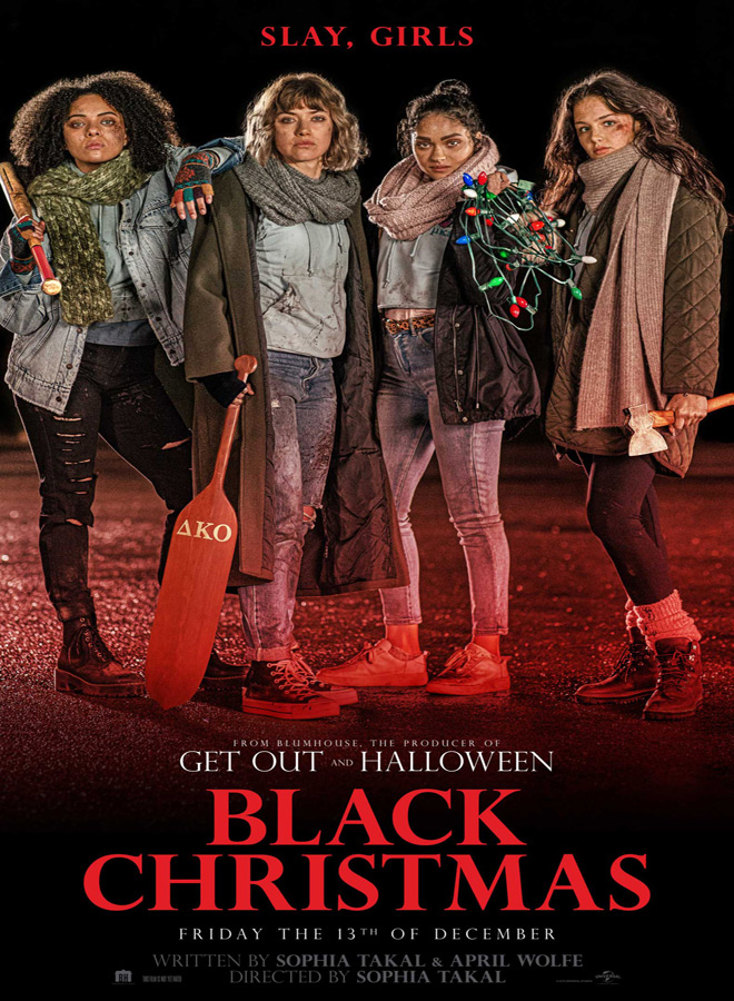 black christmas poster - Black Christmas (Movie Review)