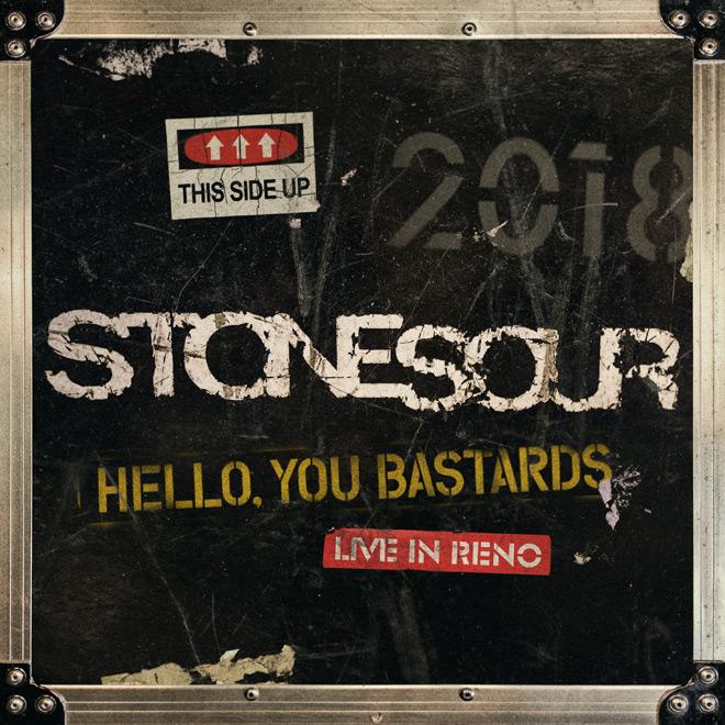 stone sour - Stone Sour - Hello, You Bastards: Live In Reno (Album Review)