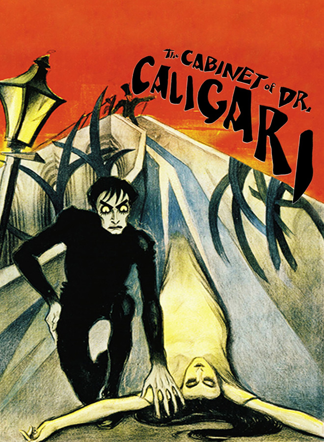 cabinet poster - 100 Years In The Cabinet Of Dr. Caligari