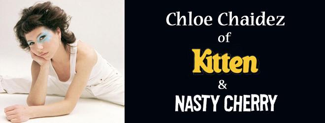 chloe slide - Interview - Chloe Chaidez of KITTEN & Nasty Cherry