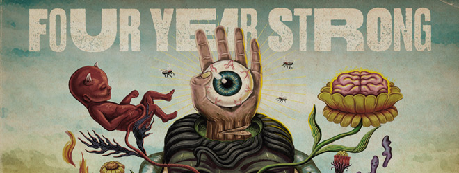 four years strong slide - Four Year Strong - Brain Pain (Album Review)