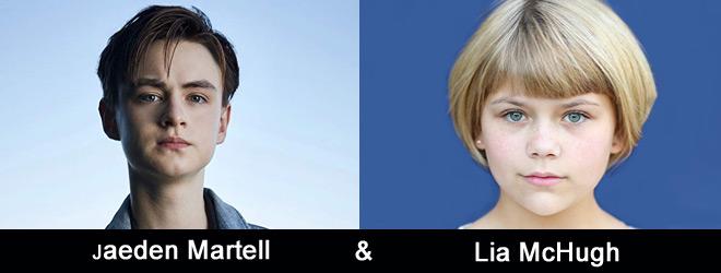 jaeden lia slide - Interview - Jaeden Martell & Lia McHugh