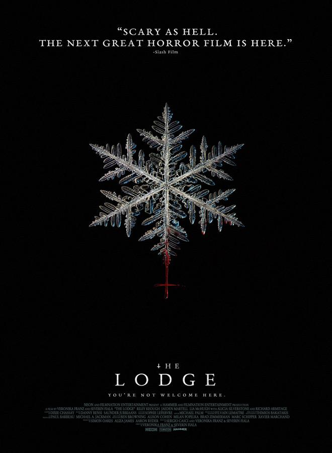 the lodge poster - Interview - Jaeden Martell & Lia McHugh