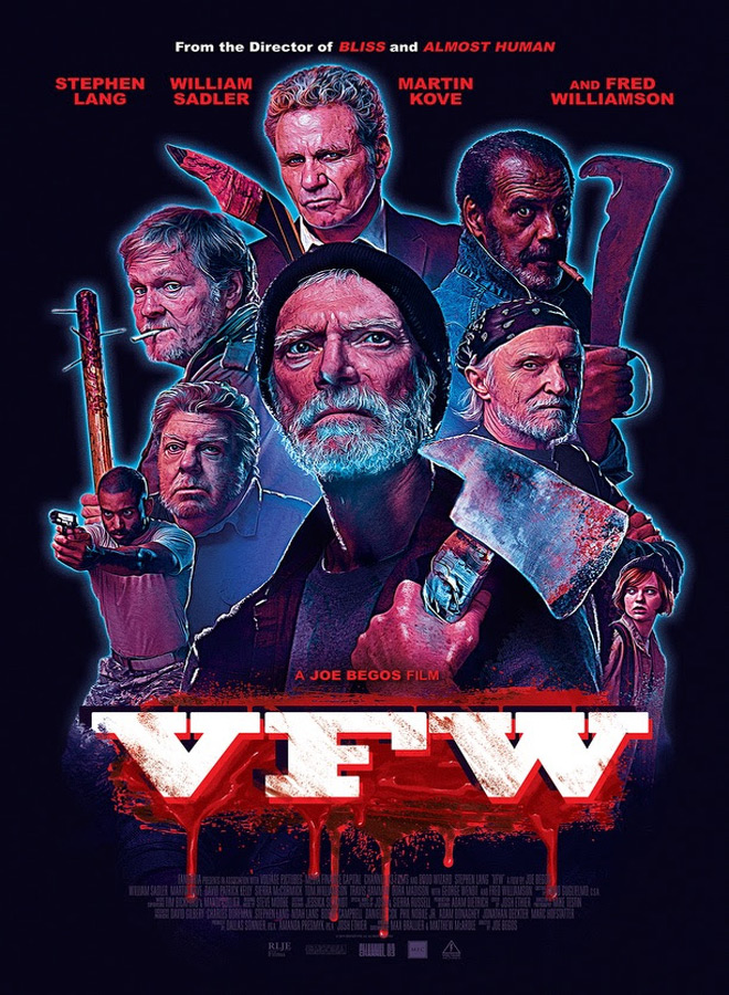 vfw poster - VFW (Movie Review)