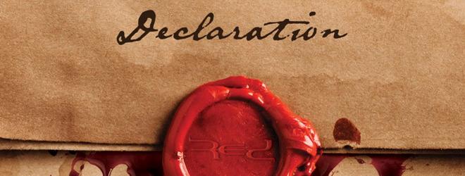 red declaration slide - RED - Declaration (Album Review)