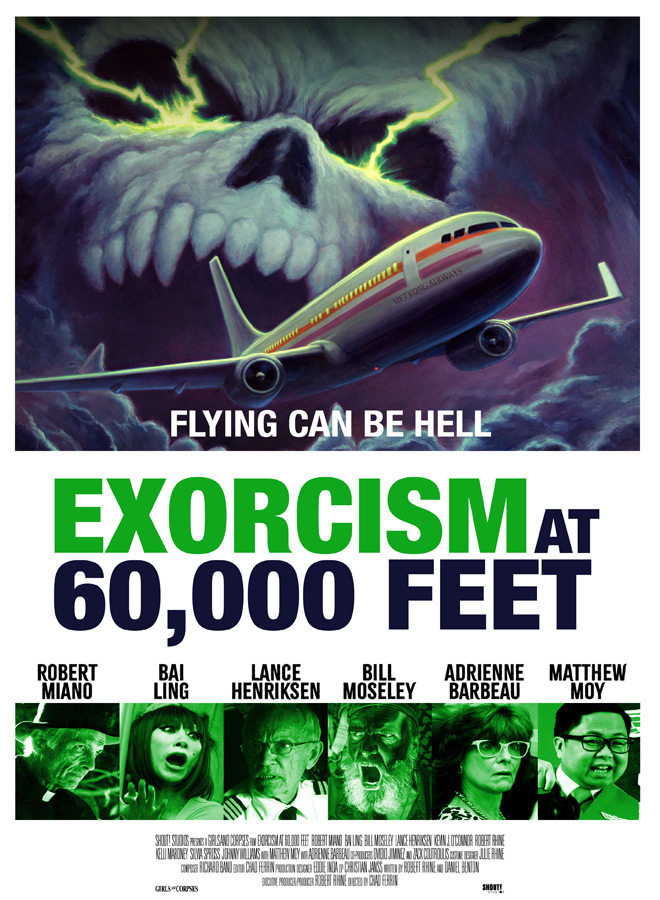 exocrism at 60000 poster - Exorcism at 60,000 Feet (Movie Review)