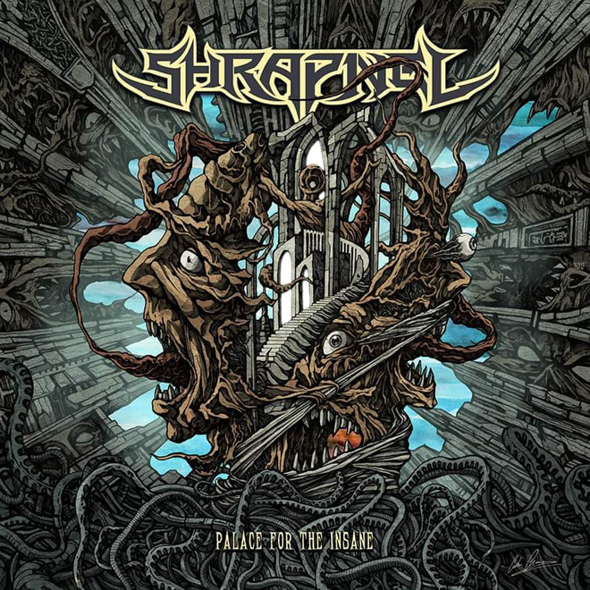 shrapnel album - Shrapnel - Palace for the Insane (Album Review)